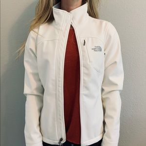 The North Face White Fitted Jacket